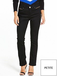 wallis-wallis-petite-harper-straight-leg-jean-black