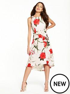 wallis-sahara-bloom-hi-lo-hem-dress