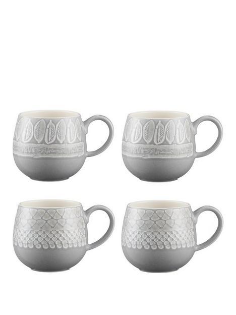mason-cash-set-of-4-impressions-mugs
