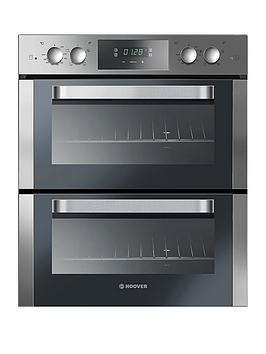 hoover-h-oven-300nbspho7d3120in-60cm-built-under-double-electric-oven-with-optional-installation-black
