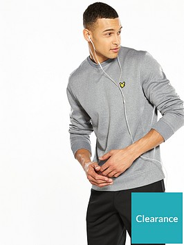 lyle-scott-fitness-lyle-amp-scott-fitness-braid-crew-neck-sweatshirt