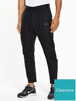 nike-sportswearnbspbondednbspwoven-pants-black