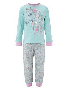 monsoon-marsha-horse-jersey-pyjamas