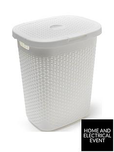 addis-50-litre-faux-rattan-laundry-hamper