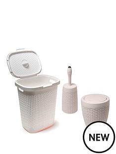 addis-50-litre-faux-rattan-hamperswing-bin-amp-toilet-brush-set