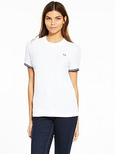fred-perry-twin-tipped-t-shirt-white