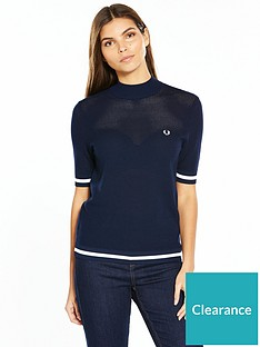 fred-perry-bold-tipped-crew-neck-jumper-rich-carbon