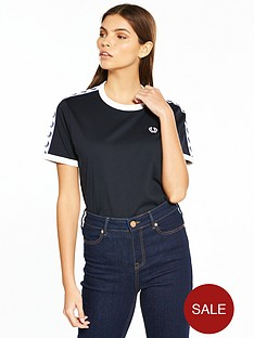 fred-perry-taped-ringer-t-shirt-blacknbsp