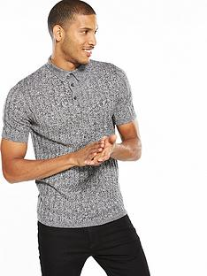 river-island-short-sleeve-twist-polo