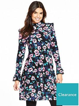 v-by-very-printed-frill-day-dress