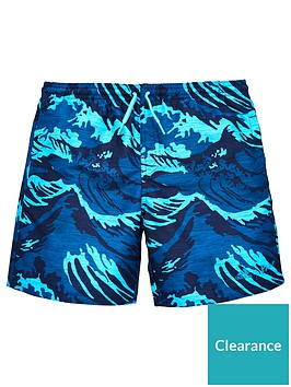 adidas-older-boy-printed-swim-short
