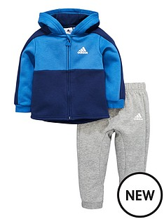 adidas-adidas-baby-boy-full-zip-fleece-hooded-linear-suit