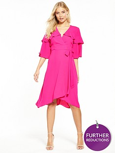 v-by-very-hanky-hem-frill-midi-dress