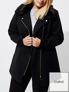 ri-plus-fur-collar-coat