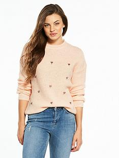 v-by-very-embellished-front-cutout-back-jumper