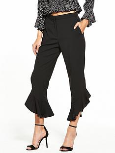 river-island-frill-cropped-trousers