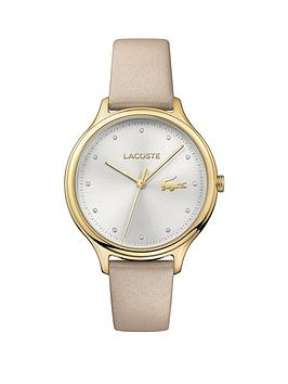 lacoste-lacoste-constance-silver-dial-white-leather-strap-ladies-watch