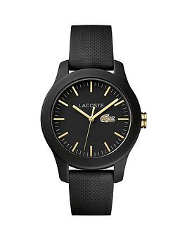 lacoste-lacoste-1212-black-dial-silicone-strap-ladies-watch