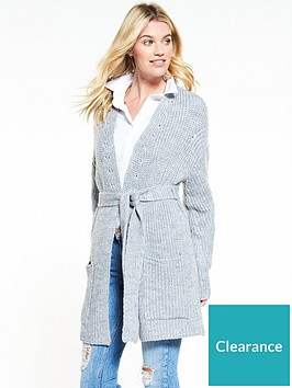 v-by-very-engineered-rib-belted-cardigan