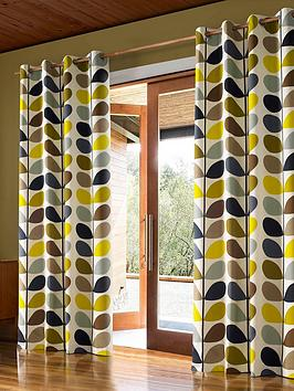 orla-kiely-multi-stem-lined-eyelet-curtains-ndash-duck-egg