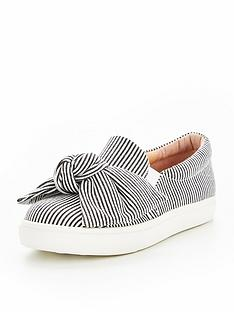 v-by-very-amelia-bow-slip-on-trainer