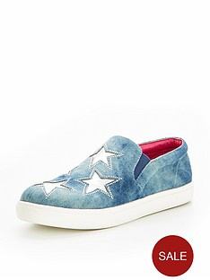 v-by-very-layla-denim-star-plimsoll