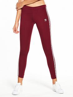 adidas-originals-adicolor-3-stripe-tights-burgundy