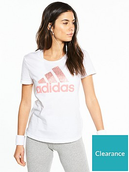 adidas-foil-text-tee-white