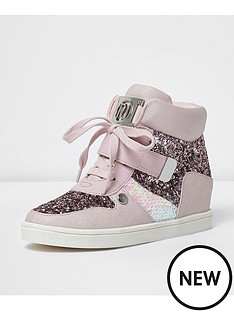river-island-river-island-glitter-high-top-lace-up-trainer