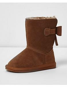 river-island-toddler-girls-faux-fur-lined-boots