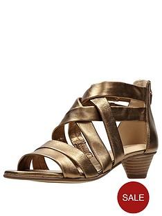 clarks-mena-silk-low-heeled-sandal-bronze-metallic