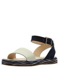 clarks-botanic-ivy-flat-sandal-navy