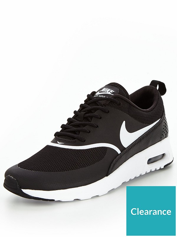 half off exclusive deals first rate Air Max Thea - Black/White