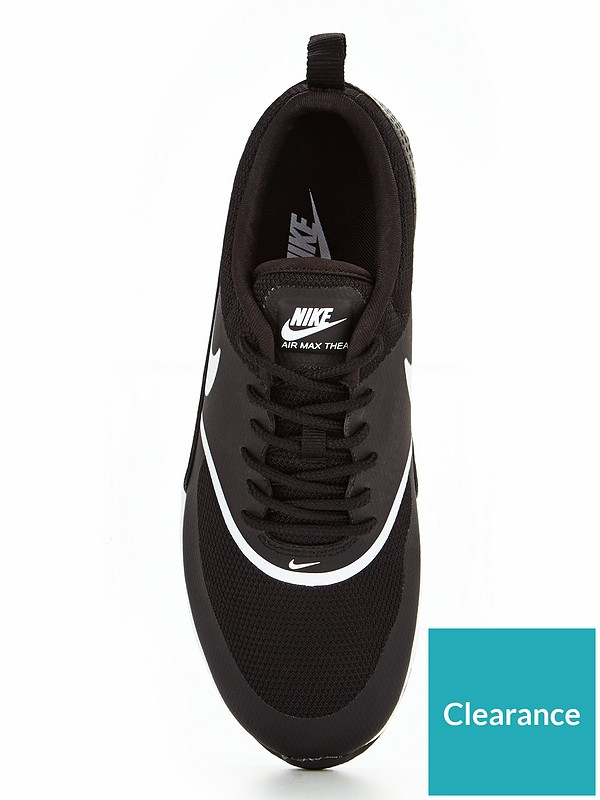 affordable price competitive price picked up Air Max Thea - Black/White