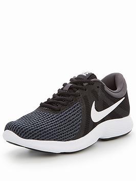size 40 98864 5f31a Nike Revolution 4 - Black White