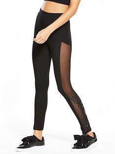 miss-selfridge-pineapple-mesh-panel-legging
