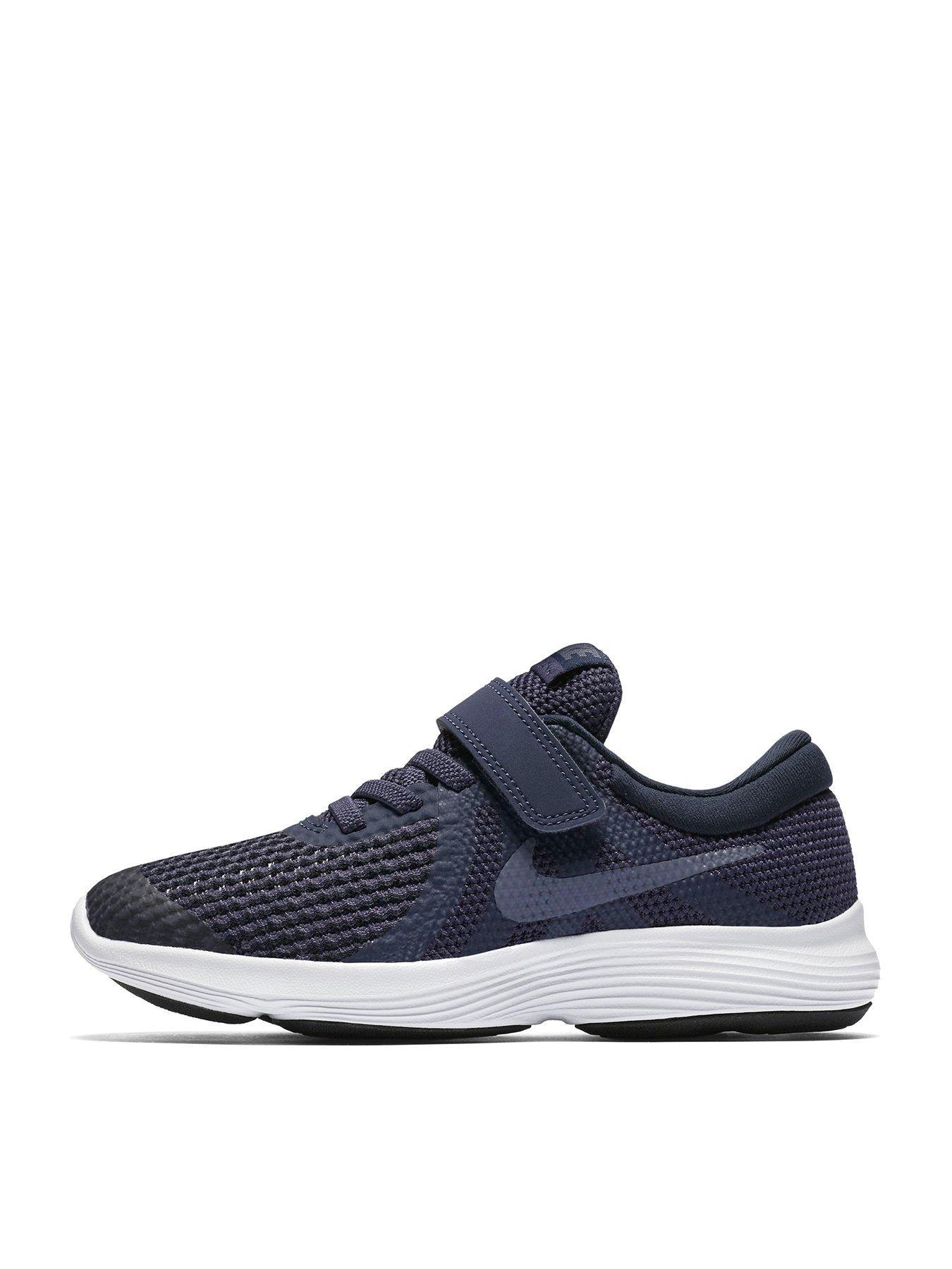 dark blue nike revolution 4 shoes for cheap billig