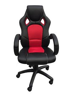 alphason-jensen-office-chair-blackred