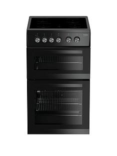 beko-kdvc563ak-50cm-double-oven-electric-cooker-black