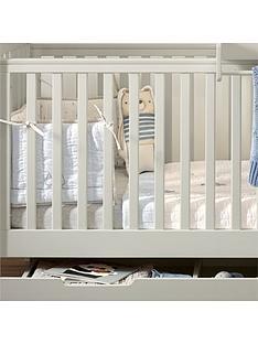 Mamas Papas Mia Vista Cot Bed Top Changer Under Storage