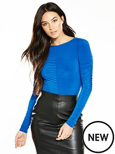 v-by-very-ruched-bodysuit