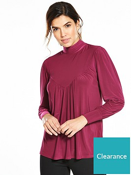 v-by-very-high-neck-long-sleeve-top-berry
