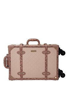 river-island-neutral-mix-embossed-2-wheel-trunk-case