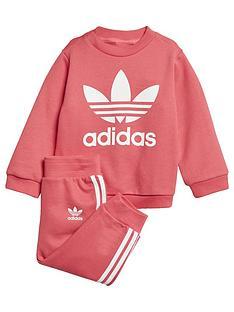 Adidas Originals Adicolor Baby Trefoil Crew Jog Suit