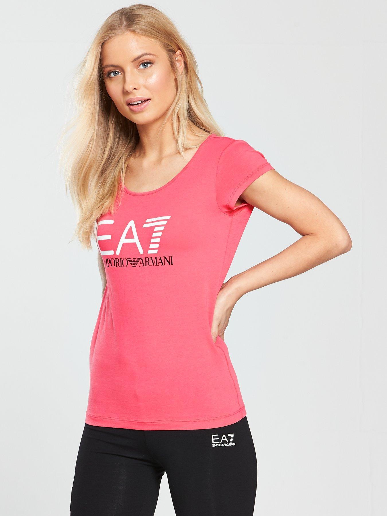 Womens Sports Shirt Emporio Armani Cheap Price Top Quality FF0FiuJg