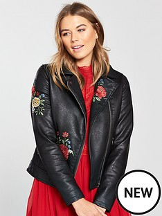 v-by-very-embroidered-faux-leather-jacket-black