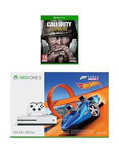 xbox-one-s-500gb-console-with-forza-horizon-3-andnbspxbox-one-call-of-duty-world-war-2-wwii