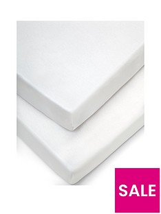mamas-papas-pack-of-2-100-cotton-cot-bed-fitted-sheets