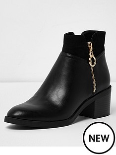 river-island-river-island-wide-fit-block-heel-boot--black