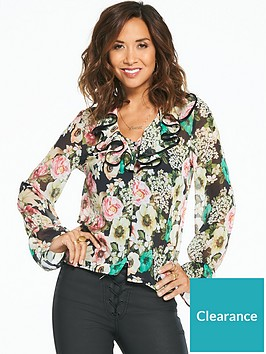 myleene-klass-bright-floral-printed-tie-neck-blouse